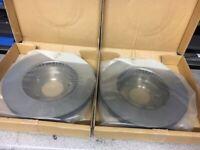 Genuine Mazda 6 Front  BRAKE DISCS  G25Y-33-25XA 1 pair (2 discs)