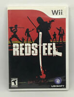 Red Steel (Wii) Nintendo Video Game Complete Great Condition