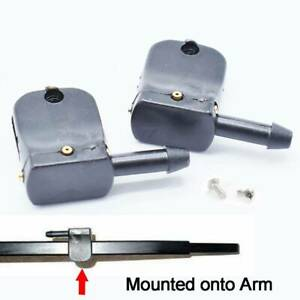 Washer Jet For Renault Espace III 3 Nozzle Spray Mounted Wiper 9mm 12mm Hook Arm
