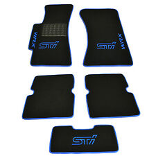 Subaru Impreza 2002-2007 Fully Tailored Luxury Carpeted Car Floor Mats STI WRX