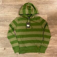 Dickies Womens Striped pattern Light Pullover Hoodie hooded clover green tonal