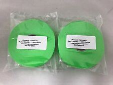 2 Rolls GENUINE Monarch Paxar 1131 FLUORESCENT GREEN LABELS 000652 / FG-151