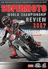 Supermoto World Championship Review 2007 (2012, REGION 1 DVD New)