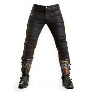 Fuel Motorcycles Sergeant Trousers - Waxed | CE Armour | Fast & Free Delivery