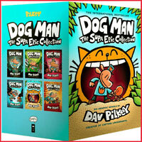 Dog Man The Supa Epic Collection (Set 1-6 by Dav Pilkey (E-βOOK)  ✅