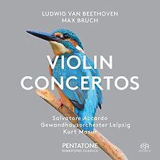 Beethoven / Bruch / - Ludwig van Beethoven & Max Bruch: Violin Concertos [New SA