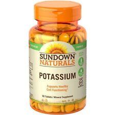 90 Tabs Potassium Citrate Gluconate Bitartrate Bicarbonate  Sulfate BLEND 99 mg