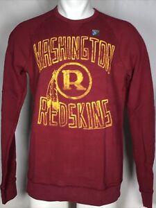 Washington Redskins Junk Food Field Goal NFL Red Fleece Sweatshirt Men's LARGE