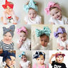 Kids Girl Baby Toddler Bow Headband Hair Band Accessories Headwear Head Wrap GOD