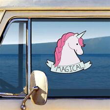Popular Unicorn Light Switch Computer Car Wall Sticker For Kid Room Art Decal BR