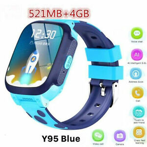 2019 Kids Smart Watch 4G GPS WIFI Tracking Video Call Waterproof SOS Voice Chat