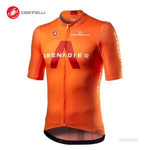 NEW 2021 Castelli COMPETIZIONE INEOS GRENADIERS Cycling Jersey : ORANGE