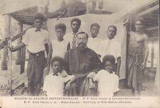 Solomon Islands Buka passage New guinea mission 1910s PC