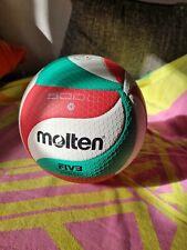 Molten V5M5000 - DE Volleyball Wettspielball weiß/grün/rot Gr. 5