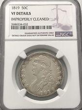 1819 50c Bust Half Dollar NGC VF Details