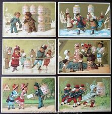 Chromo Liebig Sang. 79 FRA Bambini in Costume Spagnolo ANNO 1878/83