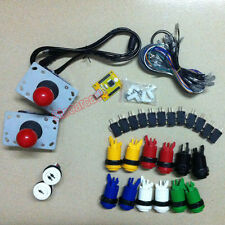 Arcade DIY Parts for 2 players PC PS/3 2 IN 1 USB controller USB to Jamma MAME