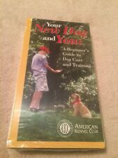 "New American Kennel Club ""Your New Dog and You"" VHS"