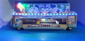 Faller, Vollmer, Kibri  EIS Bude ,Kirmes ,mit LED Farben anschlussfertig