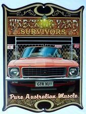 WRECKING YARD SURVIVORS, HOLDEN GTR XU1 PURE AUSTRALIAN MUSCLE All Weather Sign