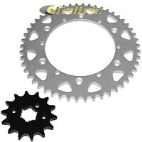 Front & Rear Sprockets Kit for Yamaha LT250 YZ250 YZ465 YZ490