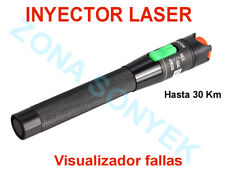 INYECTOR LASER ( Visual Fault )  30 KILOMETROS DE ALCANCE Potencia 30mW