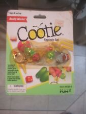 Cootie Key chain set Basic Fun Key ring Board Game Toy Fun Mini Milton Bradley