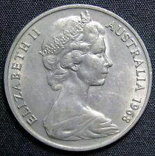 1968 Australia 20 Cents Coin