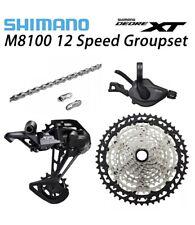 New 2020 Shimano Deore XT M8100 12 speed Upgrade Drivetrain Groupset 10-51T MTB