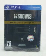 MLB The Show 18 MVP Edition PS4 Playstation 4 Brand New Factory Sealed Limited