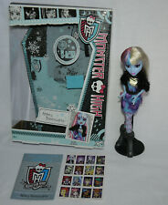 Monster High Abbey Bominable Picture Day muñeca Doll lot box stickers/con embalaje original