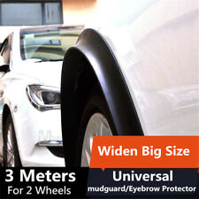 2* widen Big Size rubber fender flare wheel eyebrow Protector decorative  stripe