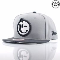 New Era 9FIFTY x Yums Smiley Face 'Classic Outline' Grey/Graphite Snapback Cap