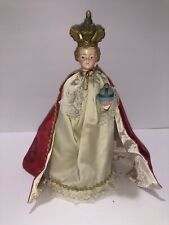 "13.5"" Antique Infant of Prague Statue"