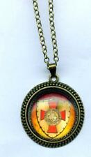 Halskette Templerkreuz auf Schild Tempelritter Necklace Knights Templar