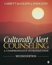 Culturally Alert Counseling : A Comprehensive Introduction +CD by McAuliffe ,2ed