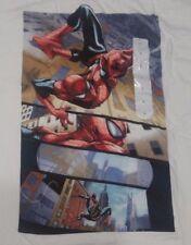 The Spider-Man Swinging Spidey White T-Shirt Large
