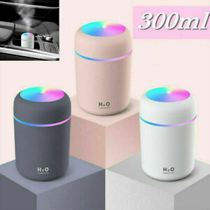 LED Light UP Air Oil Aroma Diffuser Humidifier Electric Home Purifier 300ml