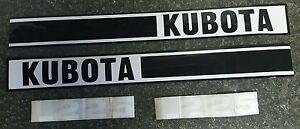 Kubota L225 tractor decal set