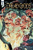 DREAD GODS #1 COVER A TOM RANEY IDW COMICS