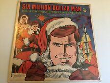Six Million Dollar Man Comic Christmas Adventur Sealed New original Vinyl Record