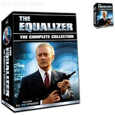 The Equalizer: The Complete Collection - Seasons 1-4 Dvd, 2016