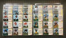 1962 Post Cereal Football Complete Set (200) Bart Starr Paul Hornung YA Tittle +