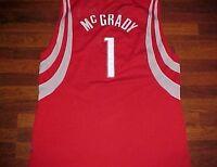 Tracy McGrady 1 Houston Rockets HOF NBA Reebok 2003/04 Swingman Red Jersey 2XL