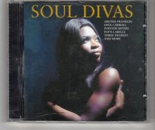 (HN55) Soul Divas, 18 tracks various artists - 2007 CD