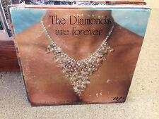 The DIAMONDS Are Forever featuring Glen Stetson vinyl LP VG+ WIDGET 1976 SIGNED