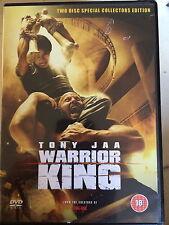 Tony Jaa THE WARRIOR KING ~ 2005 Thai Martial Arts Classic ~ 2-Disc UK DVD