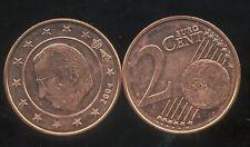 BELGIQUE  2 cent  2004  SPL  neuve  ( sortie du rouleau )