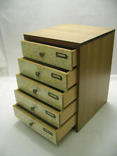 Tansu Small Document  Box circa1960s Japanese Antique #126