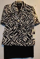 Kasper 2 pc Skirt Suit Size 4 Lined NWT WA021